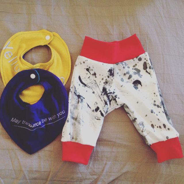 Neues Hobby Babysachen aus den alten TShirts von farbrauschen nhenhellip